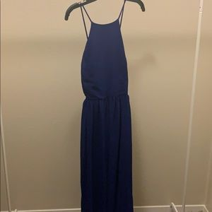 Royal Blue Brides Made Dress- Charlotte Russe-XL